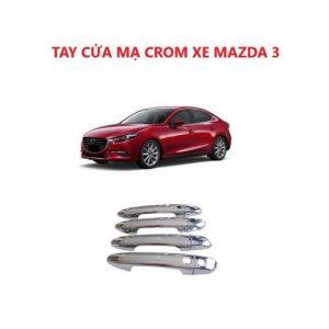 ỐP TAY CỬA MẠ CROM XE MAZDA 3