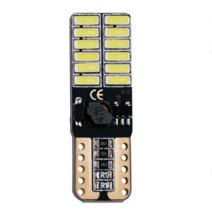 BỘ 02 BÓNG ĐÈN LED T10-4014 - 24 LED 12V