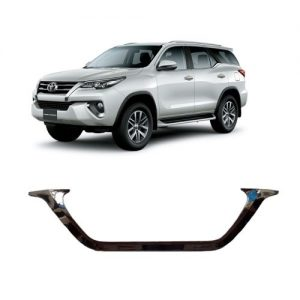 ỐP CONG BIỂN SỐ MẠ CROM XE FORTUNER 2017-2019
