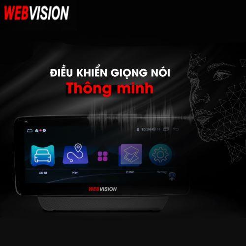 MÀN HÌNH DVD WEBVISION MAZDA 3 CAO CẤP CHẠY 2 HỆ ĐIỀU HÀNH