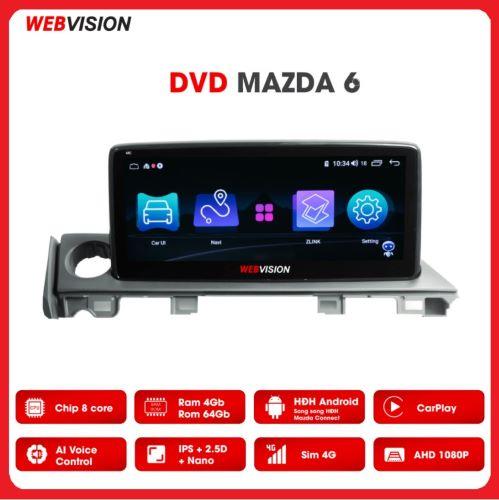 MÀN HÌNH DVD WEBVISION MAZDA 6 CAO CẤP