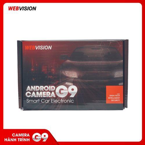 CAMERA HÀNH TRÌNH WEBVISION G9 KẾT NỐI DVD ANDROID