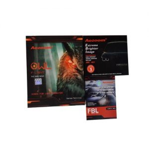 BỘ BI GẦM AOZOOM OWL F-LIGHT 3.0 MẪU MỚI ( BI + BÓNG ĐÈN + BALLAT )